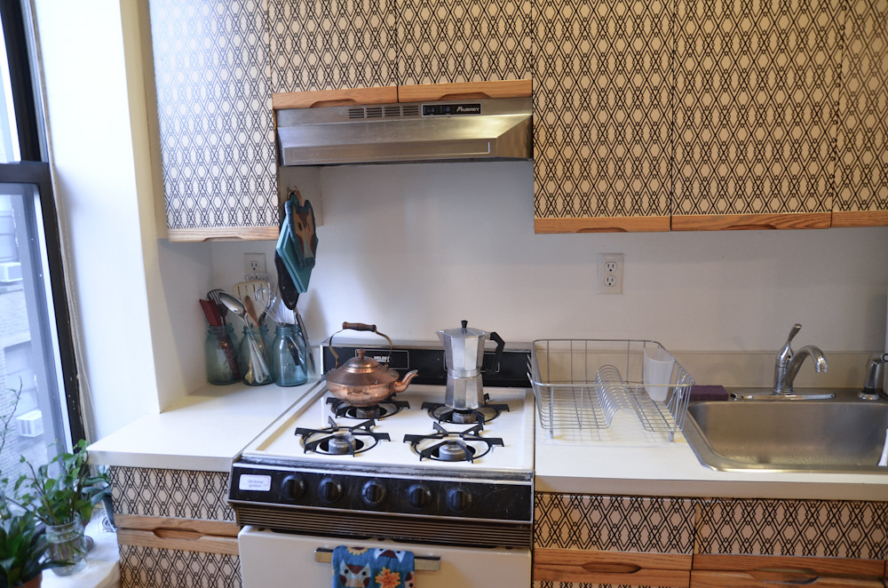 Diy Kitchen Cabinet Makeover For Renters See More On My Bl