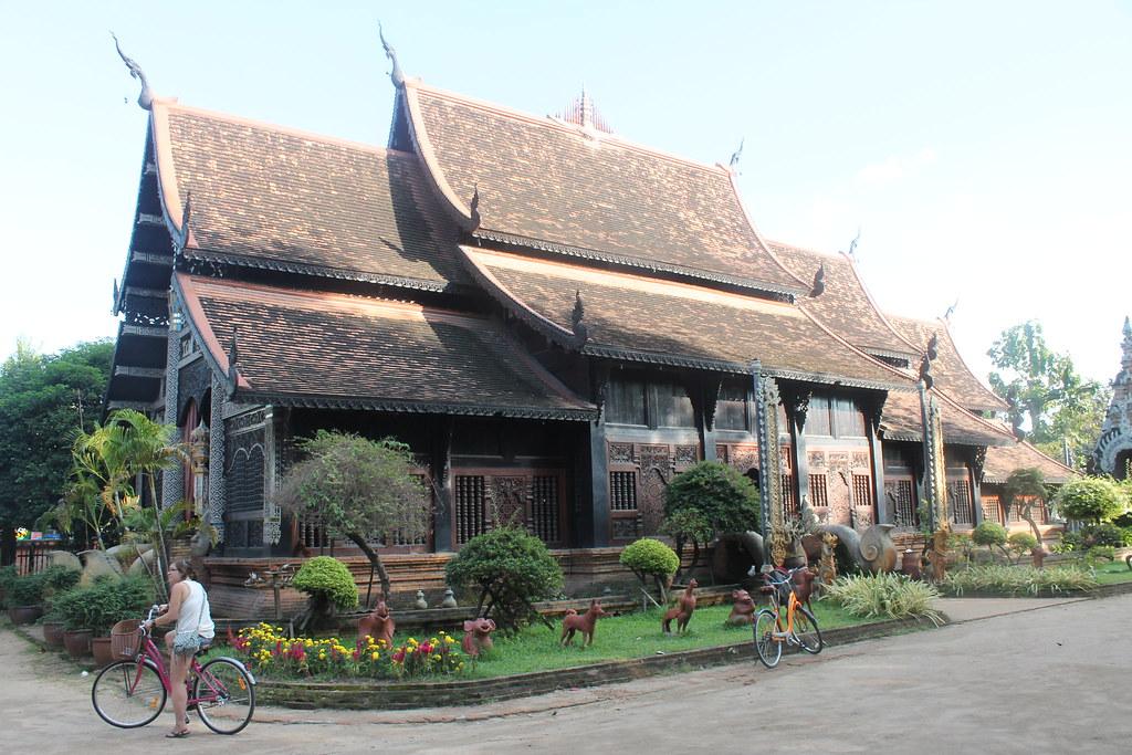 Chiang Mai wat, north wall of old town