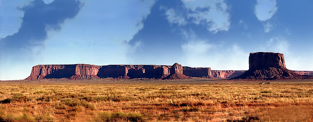 Monument Valley Panorama (stitched)