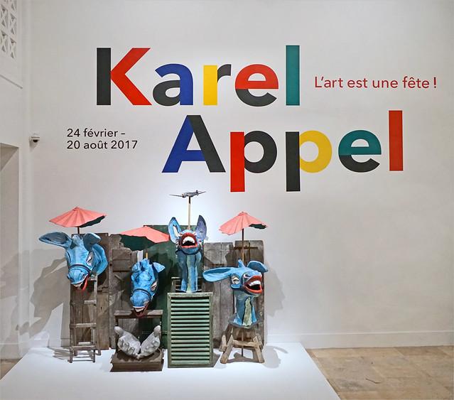 Karel Appel. L'art est une fête (musée d'art moderne de la ville de Paris)