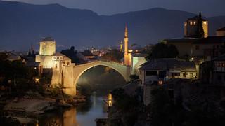 Evening in Mostar...   by mesanac76