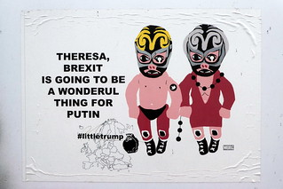 Theresa, Brexit is going to be a wonderful thing for Putin | by duncan