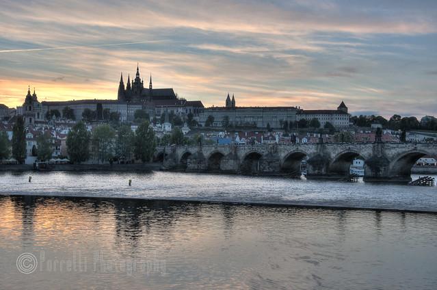 Prague Castle across the Vlatva 1