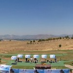 A panorama of the shotgun ranges