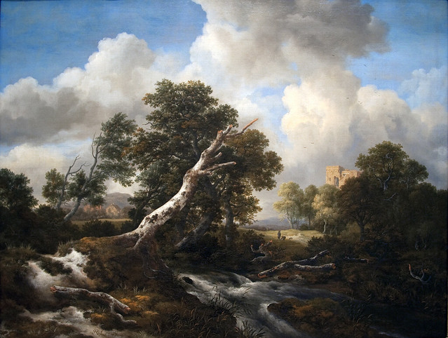 Waterfall in Wooded Landscape, c.1665