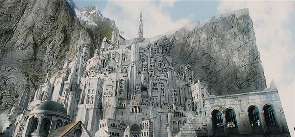 Minas Tirith The Lord Of The Rings The Return Of The King