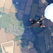 Tandem Skydive for Charity over the UK countryside