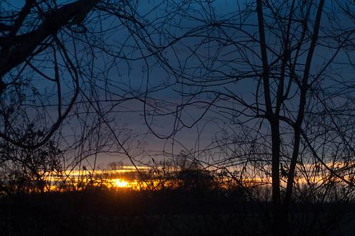 clouds sunrise dawn