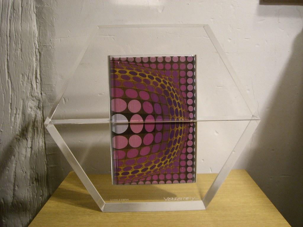 Victor Vasarely 1906 1997 Hexagone Livre Objet N 1168