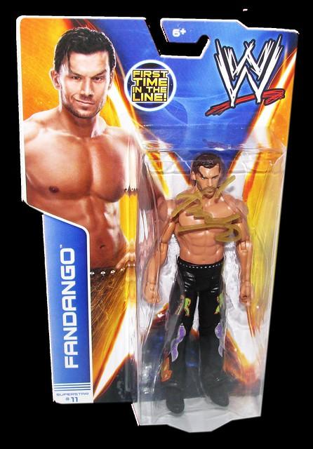Fandango Autographed WWE Basic Mattel Series 36 Figure