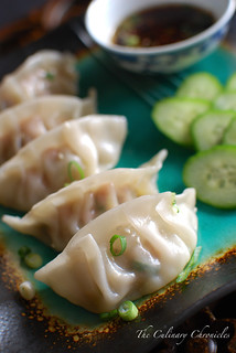 Pan-Fried Ginger Chicken Dumplings | by The Culinary Chronicles