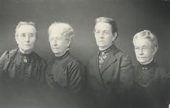 The Lewsey sisters, From left, Alma Couchman, Jane Rowe, Elizabeth Jackson & Alice Jackson