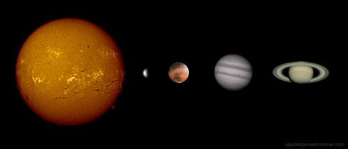 solar system 22-23/03/14 | by upsidedown astronomer