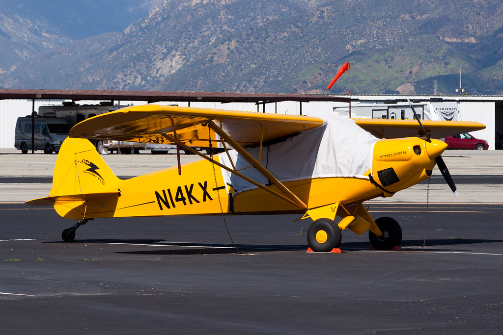 Private Cub Crafters CC11-100 Sport Cub N14KX | The Piper Cu