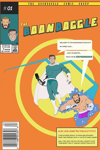 The Boondoggle Comicbook Cover | by The Boondoggle Podcast