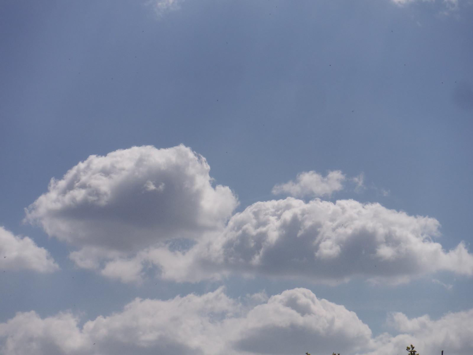 Clouds over Parslow's Hillock SWC Walk 10 - Little Kimble to Saunderton