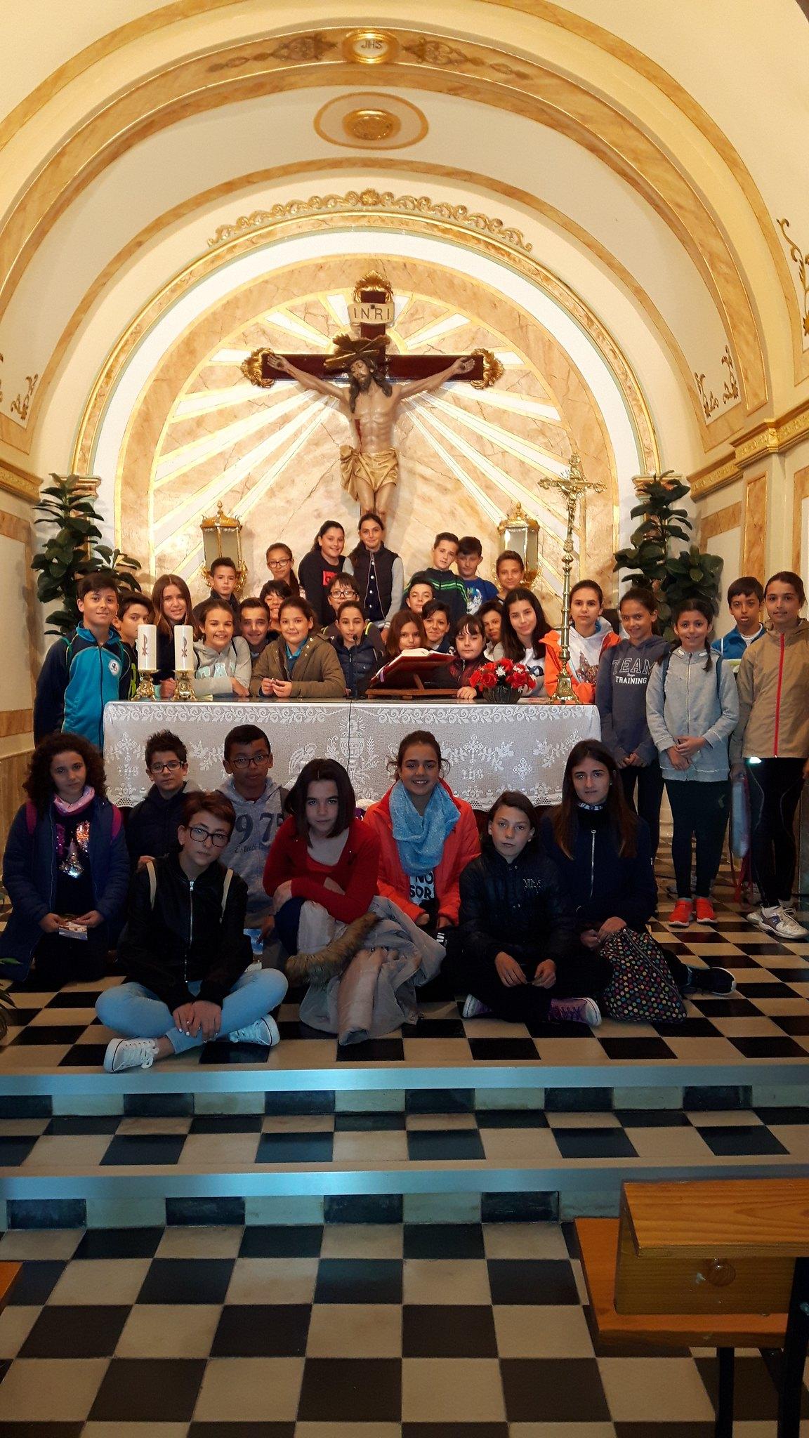 (2017-03-31) - Visita ermita alumnos Yolada-Pilar, Virrey Poveda-9 de Octubre - Maria Isabel Berenquer Brotons - (06)
