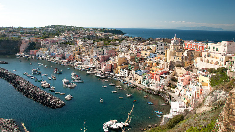 Color of Procida