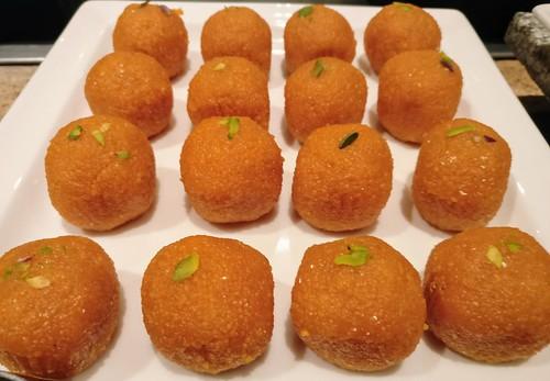 Boondi Ladoo   by fooddrifter
