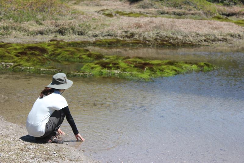 神津島 天上山 千代池