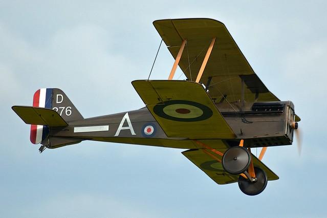 WWI British Bi-Plane (1)