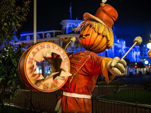 Halloweentime on Main Street, USA | by Brett Kiger