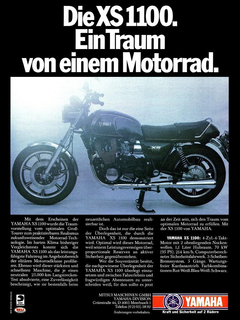 Yamaha XS 1100 (1979) Ein Traum von einem Motorrad | Flickr