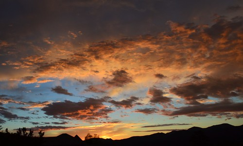 newmexico sunrise day cloudy sandiapark