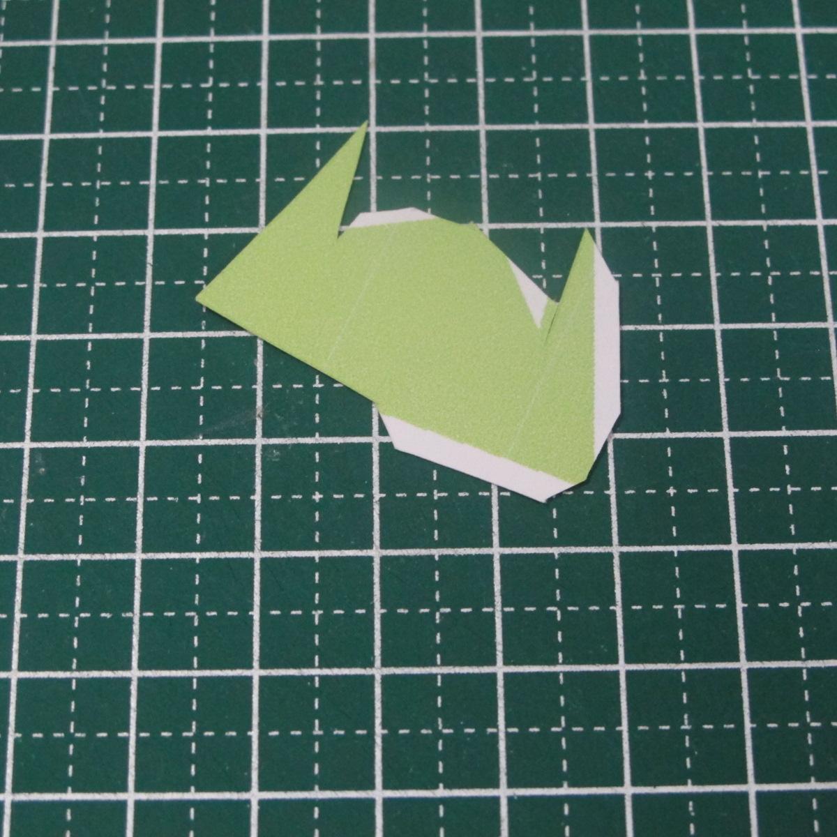 วิธีทำของเล่นโมเดลกระดาษรูปนก (Bird Paper craft ) 005