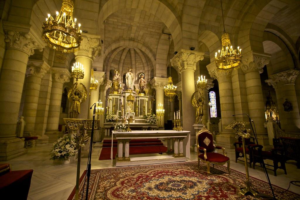 Parroquia de Santa María la Real de la Almudena (Cripta