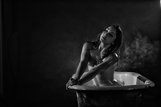 Andrea 'In The Tub' | by TJ Scott
