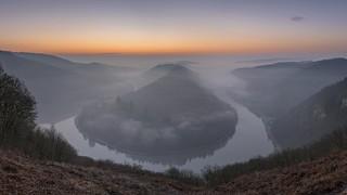 *Saarschleife vor Sonnenaufgang* | by Albert Wirtz @ Landscape and Nature Photography