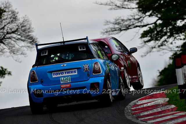 Team Oaklands - Chris Smith/Toby Hotston - MINI JCW (MSVT Trackday Trophy)