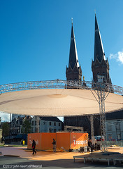 Stage for King's Day