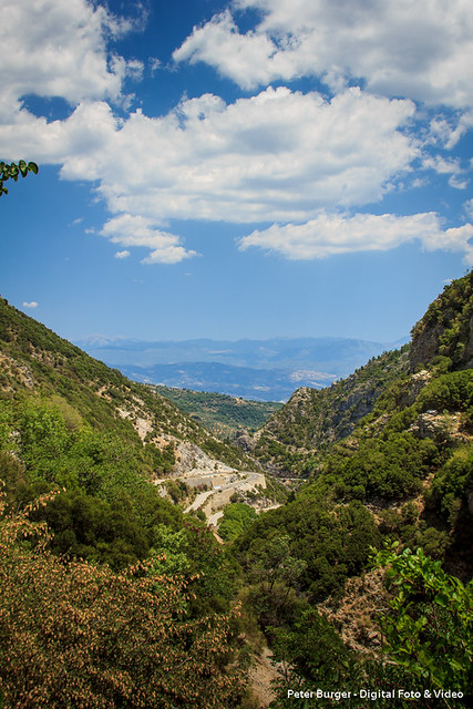 On the way to Mystras