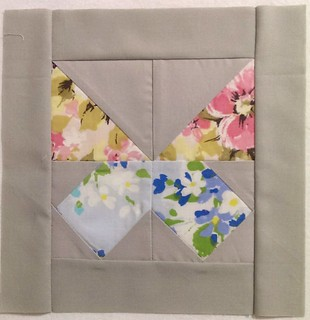 vintage sheets butterfly block for Stephanie