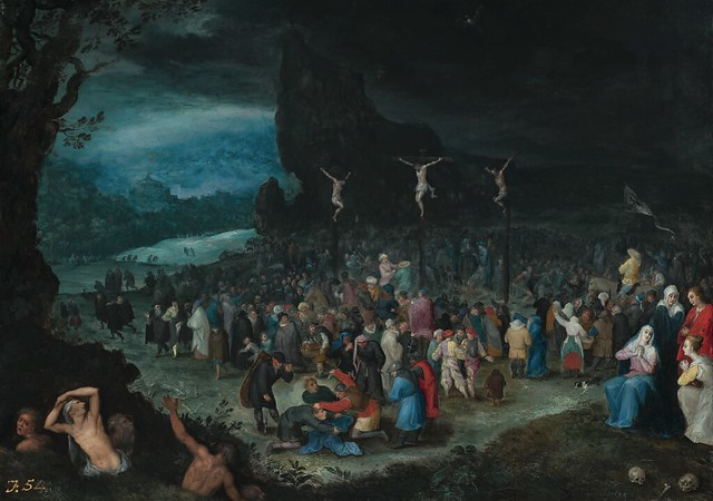 [ B ] Jan Brueghel the Elder - Crucifixtion (c.1594)