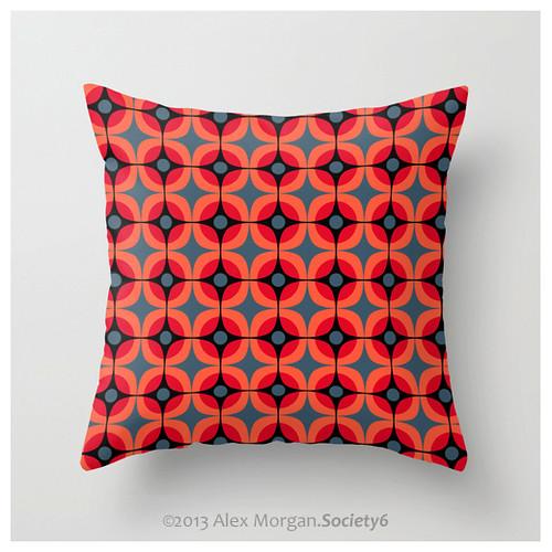 Poppy.cushion cover