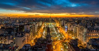 View from Palacio Barolo Buenos Aires Argentina | by Gаme of light