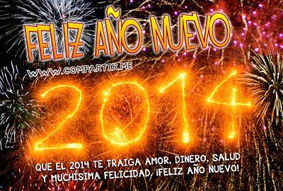 Asombrosas Imágenes De Año Nuevo 2014 Con Frases Cortas Pa
