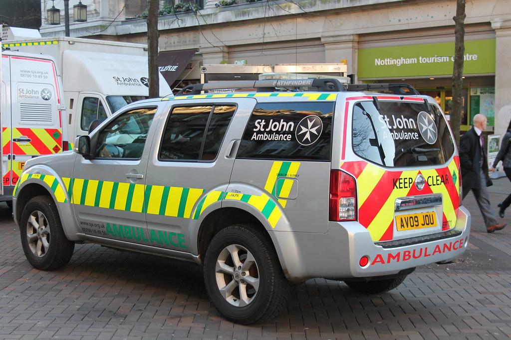 Saint John Nissan >> St John Ambulance Nissan Pathfinder Response Vehicle Av09