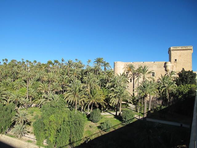 Castillo de la Señoria Elche.Alicante