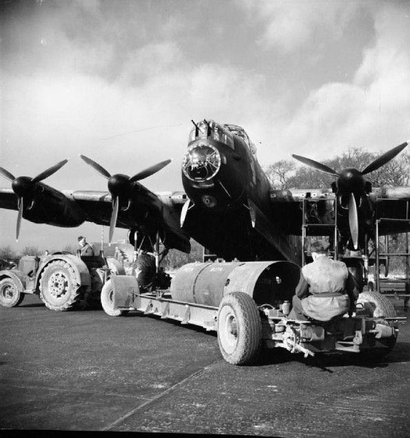 Avro Lancaster of No. 106 Squadron RAF