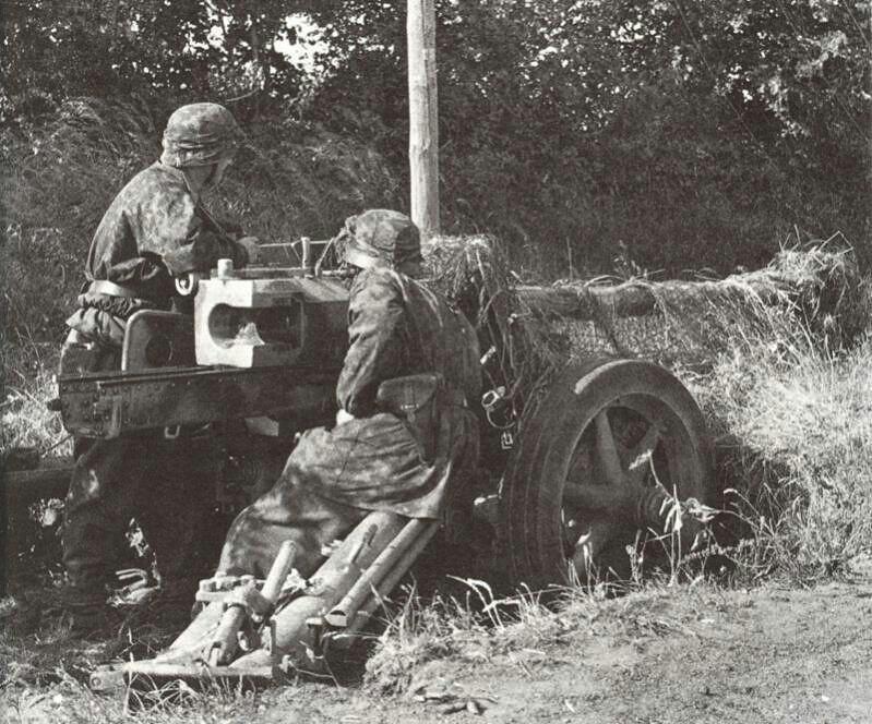"""PaK-40, SS """"Hitlerjugend"""""""
