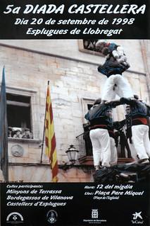 030. 1998 cartell 5a Diada   by Cargolins