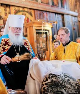 Литургия в Софийском соборе 440