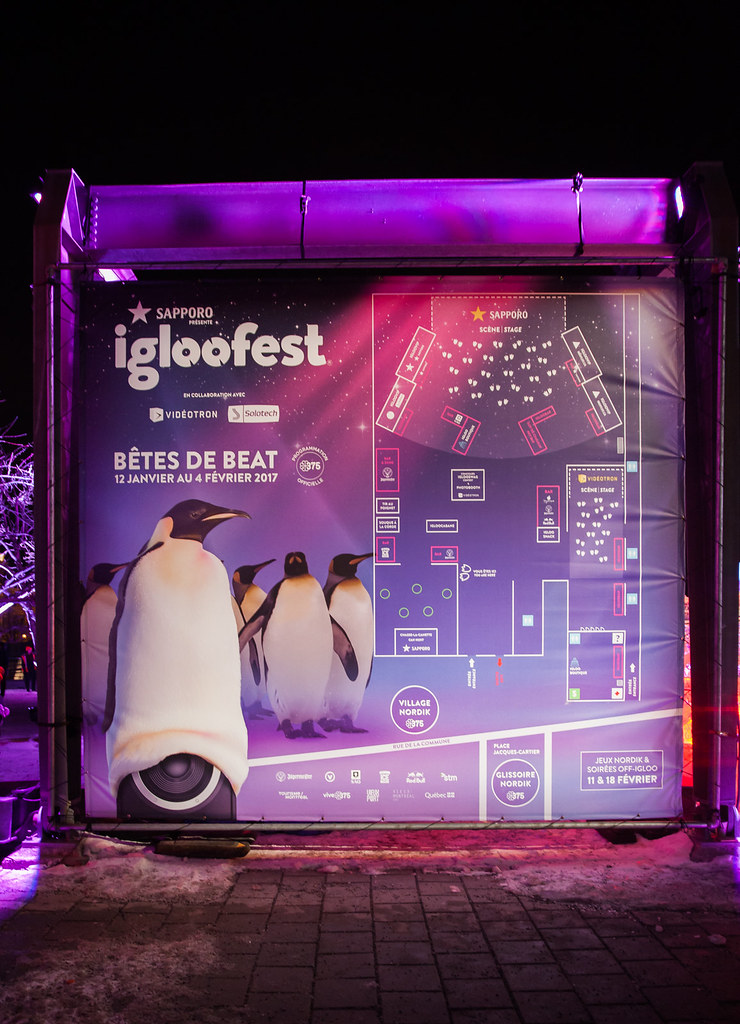 Igloofest Winter Festival and Electronic Music Event