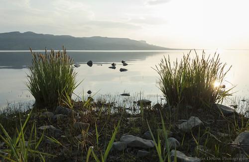 jonasdellowphotography nikond200 grass water mountains lake loughmelvin shoreline peaceful nature natural calm still sunset