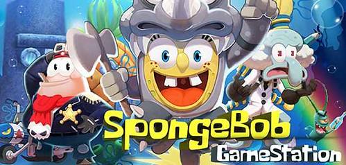 SPONGEBOB GAMESTATION per Android - un endless runner fuori di testa!!