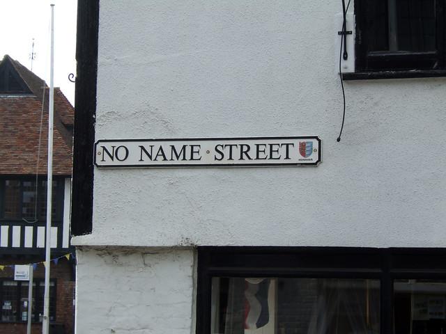 No Name Street, Sandwich